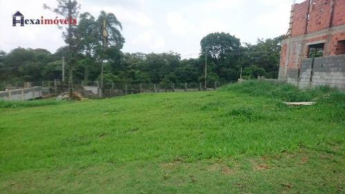 Terreno À Venda, 504 M² Por R$ 320.000,00 - Quintas Do Ingaí - Santana De Parnaíba/sp - Te0282