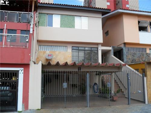 Imagem 1 de 15 de Sobrado Rudge Ramos Rua Tranquila, Excelente Local - 24878