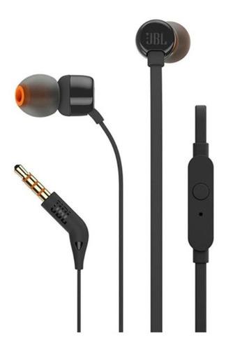 Auriculares Jbl Tune110 Negro Con Micrófono        Zonatecno