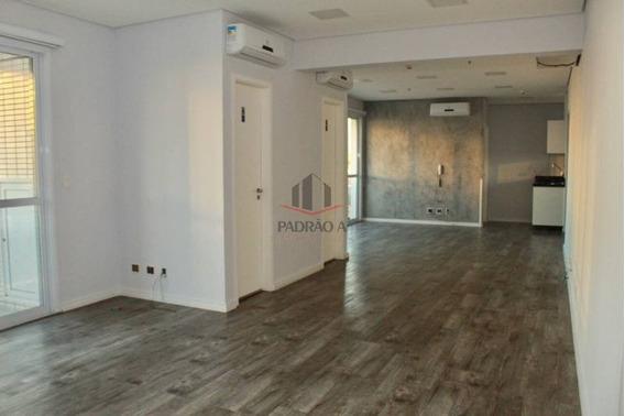 Sala Comercial Em Condomínio Para Locação No Bairro Tatuapé, 02 Vagas Com Ar Condicionado, Semi-nova, 83,50 M². - 1628