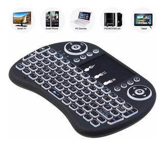 Mini Teclado Inalámbrico Mouse Pad Tv Box Smart Pc Bonificad