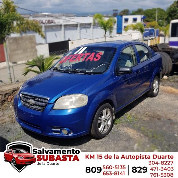 Chevy Corsa Azul 2009