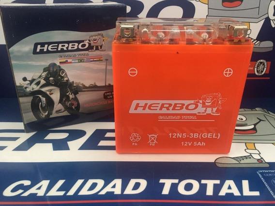 Bateria Herbo Motos 12n5-3b Gel