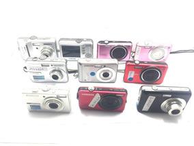 Lote Câmera Digital C/ Defeito Samsung 10 Pçs P/ Conserto