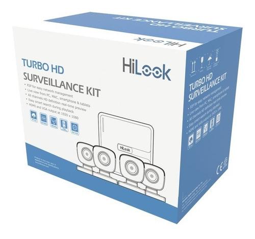Imagen 1 de 3 de Kit 4 Camaras Vigilancia Seguridad Dvr Cctv 1 Mp 720p
