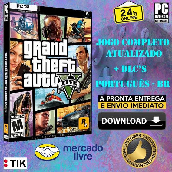 Grand Theft Auto V - Completo - Português Br - Atualizado