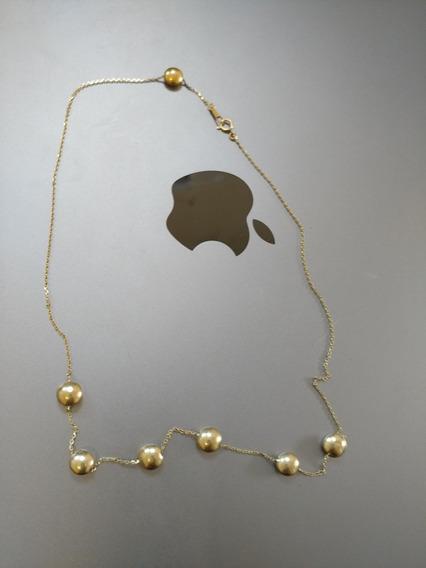 Collar De Oro Puro 14k