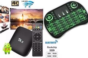 Tv Box Tx2 4k 2gb Ram 16gb Original +teclado+frette Gratis