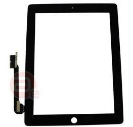 Vidro Tela iPad 3 New iPad Touch Screen Preto E Branco