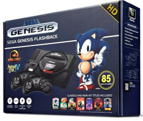 Console Mega Drive Sega Genesis Flashback 85 Jogos