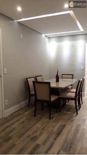 Apartamento Com 3 Dorms, Vila Mogilar, Mogi Das Cruzes - R$ 850 Mil, Cod: 1474 - V1500