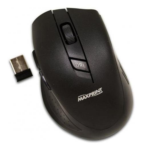 Mouse Óptico Maxprint Sem Fio 5 Botões 6012254 24169
