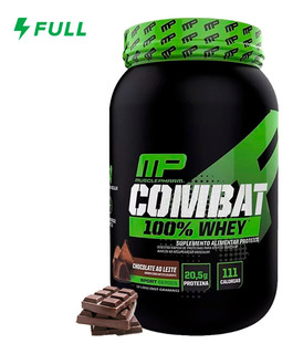100% Whey Protein Combat Mp - Muscle Pharm 907g Original