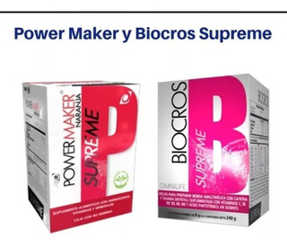 Power Maker Supreme + Biocros Supreme