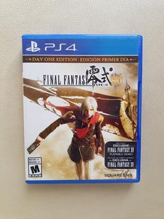 Juego Fisico Ps4 Final Fantasy Type-0 Hd. Edicion Primer Dia