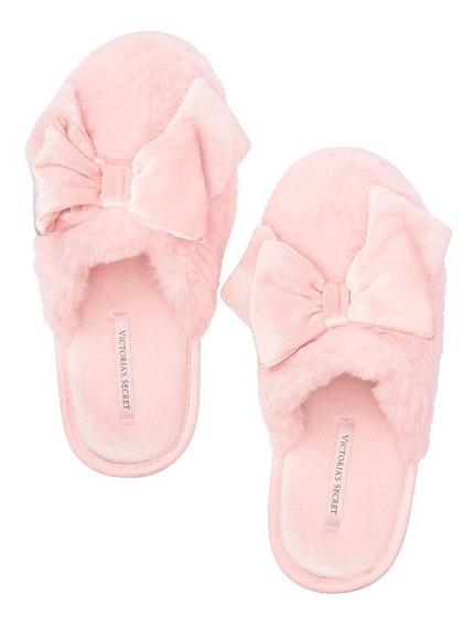 Pantuflas Victorias Secret Pink Talla 4/5 Mex