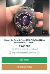 Hublot 2018 Peças Mundo Troco Patek E Rolex