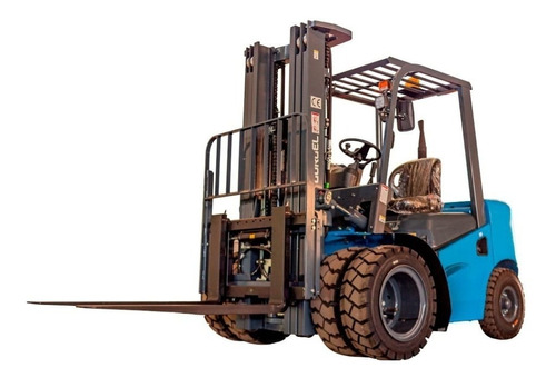 Empilhadeira Diesel Gurgel 2.5 Ton -kit Rodado Duplo Grátis