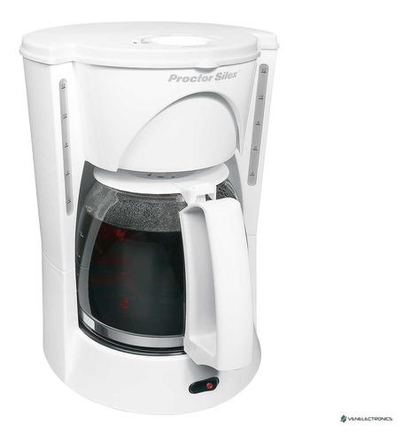 Cafetera Proctor Silex 48521 12 Tazas Blanca Tienda Física
