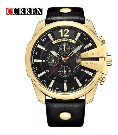 Relógio Curren 8176 Masculino Original - Importado