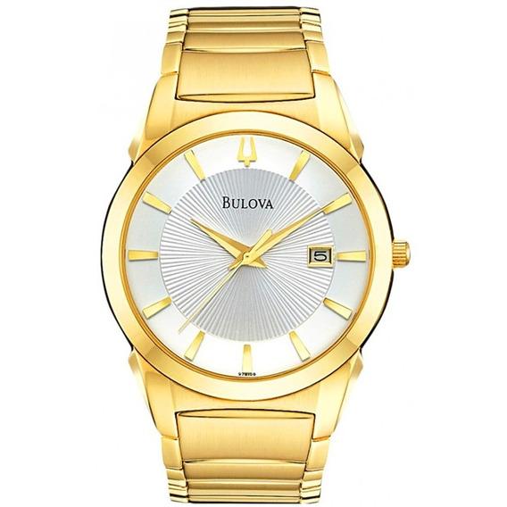 Relógio Bulova Dress Analógico Unissex Wb21605h - 97b108