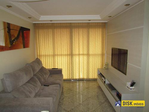 Apartamento Com 2 Dormitórios À Venda, 55 M² Por R$ 300.000,00 - Taboão - Diadema/sp - Ap0956
