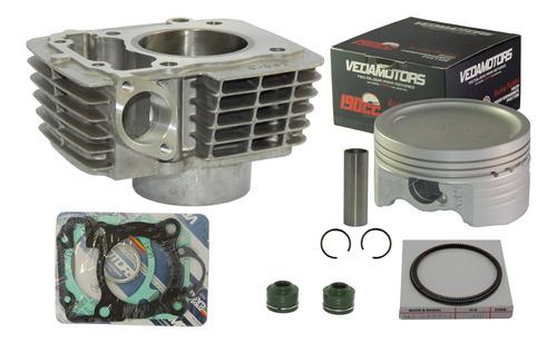 Imagem 1 de 3 de Kit Cilindro 190cc Cg Titan Fan Bros 150 Pistão Vedamotors