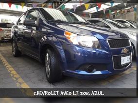 Chevrolet Aveo 1.6 Lt At Sedán 2016 Color Azul