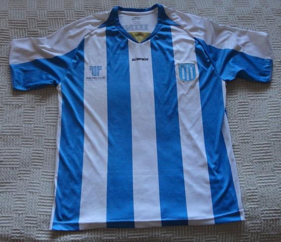Camiseta De Racing Marca Olympikus #100, Talle L