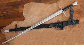 Espada Templaria 1,0m Em Aço 5160 Funcional
