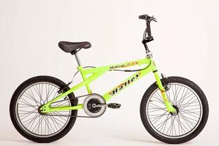 Bicicleta Halley Freestyle Rodado 20 Bmx 16306 48 Rayos
