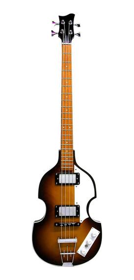 Bajo Electrico 4 Cuerdas Racker Plus 443 Violin Cuotas
