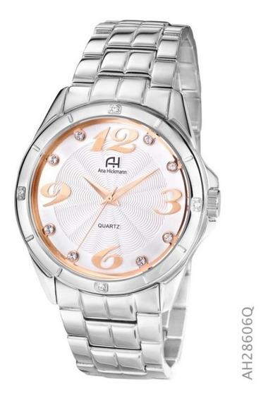 Relógio Ana Hickmann De Fábrica Original Ah28606q
