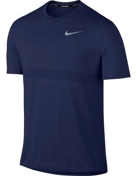 Camiseta Nike Dri Fit Azul Marinho Masculino M - 833580