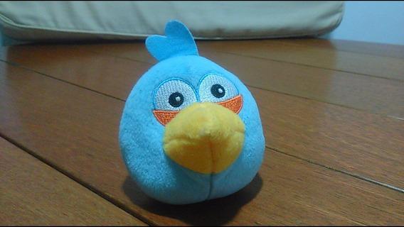 Pelúcia Coleção Angry Birds Blue Pássaro Azul