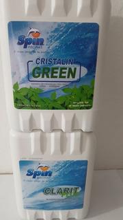 Cristalin Green 5lts. Y Clarit Plus 5lts.