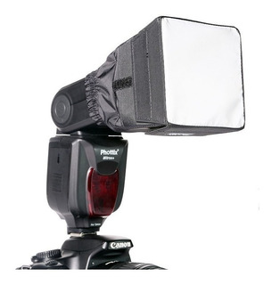 Difusor Mini Softbox Phottix P/ Flash Nikon Canon Yongnuo