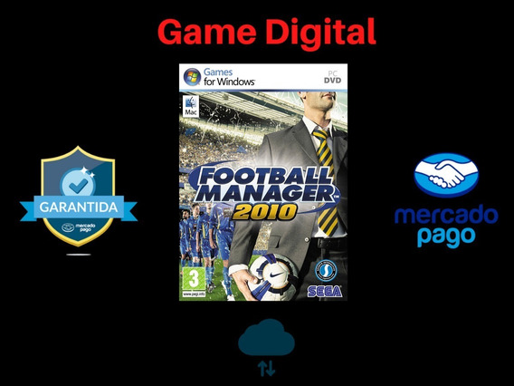 Football Manager 10 + Brinde Mídia Digital Pc
