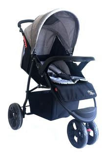 Carrinho De Passeio Triciclo Urban Baby Style Cinza