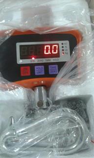 Balança Digital Suspensa De Gancho 500 Kg C Bateria Pta Etg