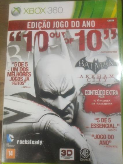 Batman Arkham Citi,xbox 360