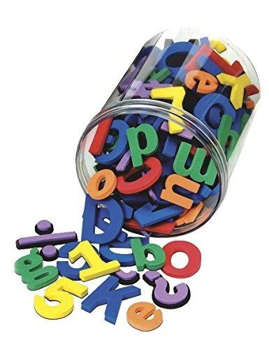 Wonderfoam Ac4357di School Letras Y Números Magnéticos De Es