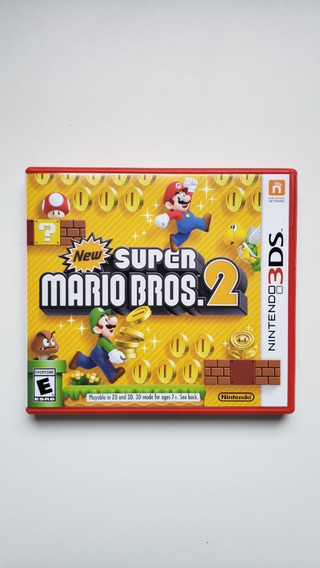 New Super Mario Bros 2 3ds Original Mídia Física