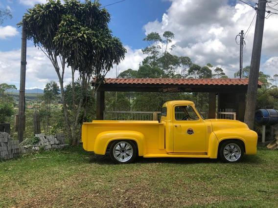 Ford F100 1963 Raridade - Amarela