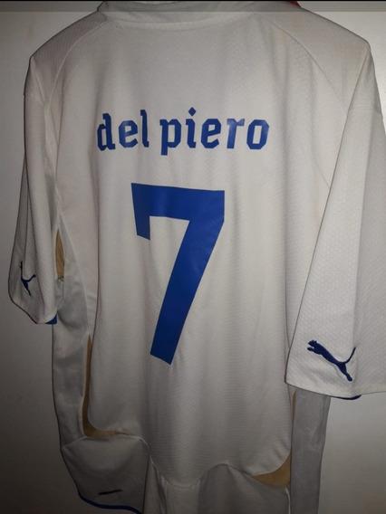 Camiseta De Italia 2010 Del Piero #7
