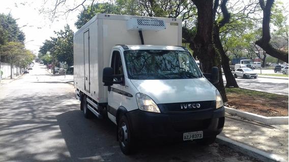 Iveco Daily 2014 Baú Refrigerado Mod 70c17 Unico Dono