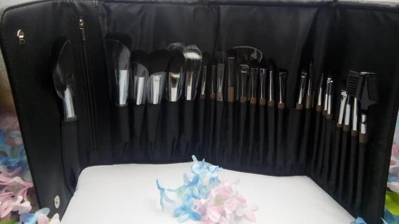 Estuche Profesional De Brochas Y Pinceles Para Maquillaje.