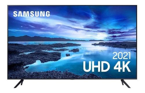 """Imagem 1 de 5 de Smart TV Samsung UN70AU7700GXZD LED 4K 70"""" 100V/240V"""