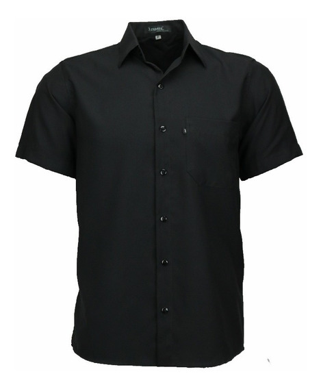 Camisa Amil Microleve Uniforme Não Amassa Manga Curta Luxo