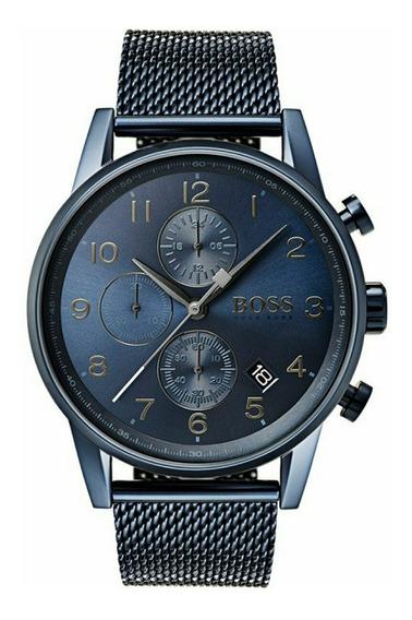 Relógio Masculino Hugo Boss Navigator 1513538 Completo